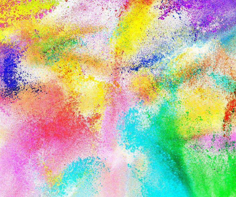 Fondo coloreado extracto del polvo ilustración del vector
