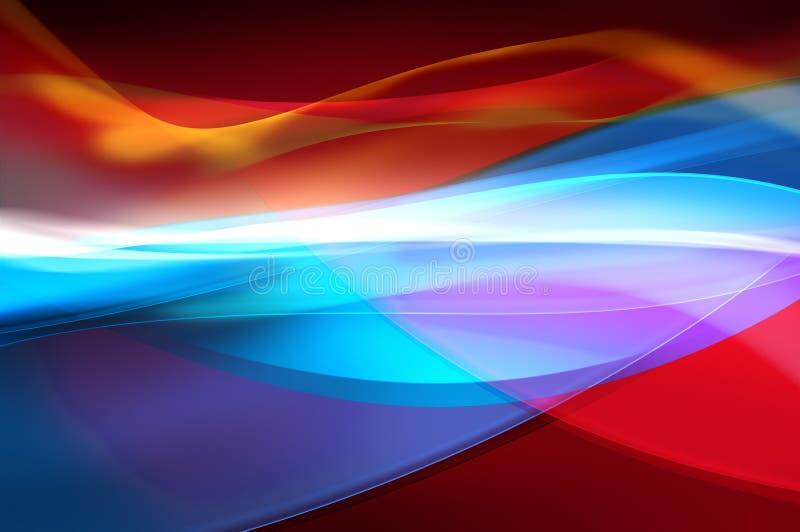 Fondo coloreado extracto, textura brillante libre illustration