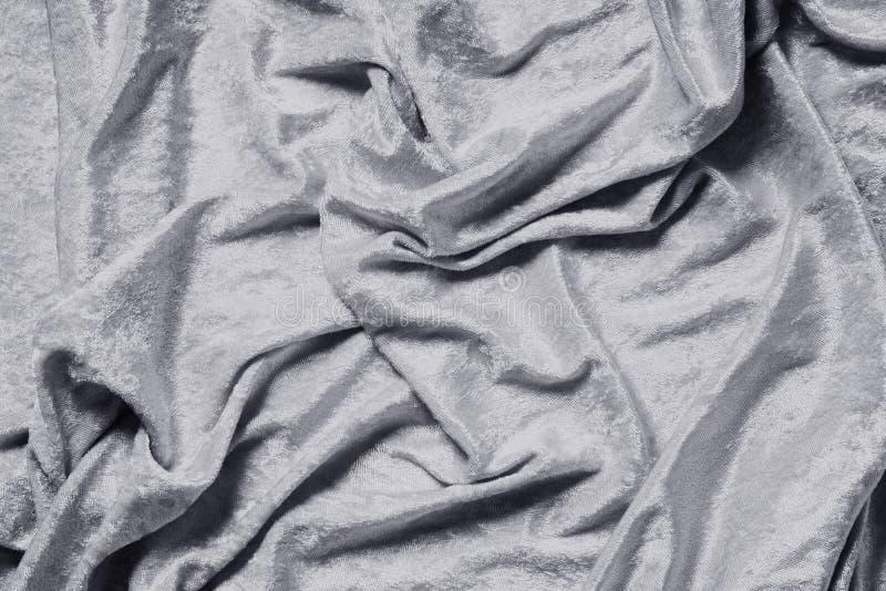 Fondo coloreado gris o de plata del terciopelo fotos de archivo libres de regalías