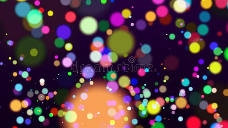 Fondo coloreado - imagen abstracta fotos de archivo libres de regalías