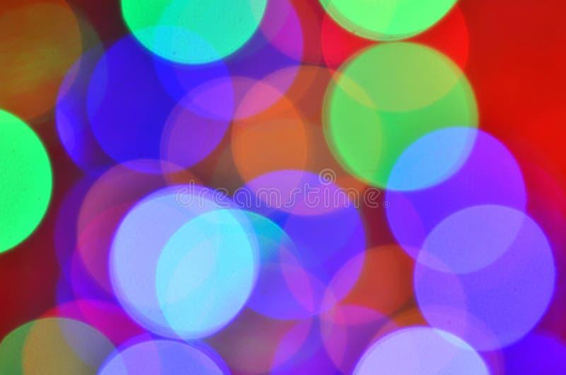 Fondo coloreado mágico del bokeh imágenes de archivo libres de regalías