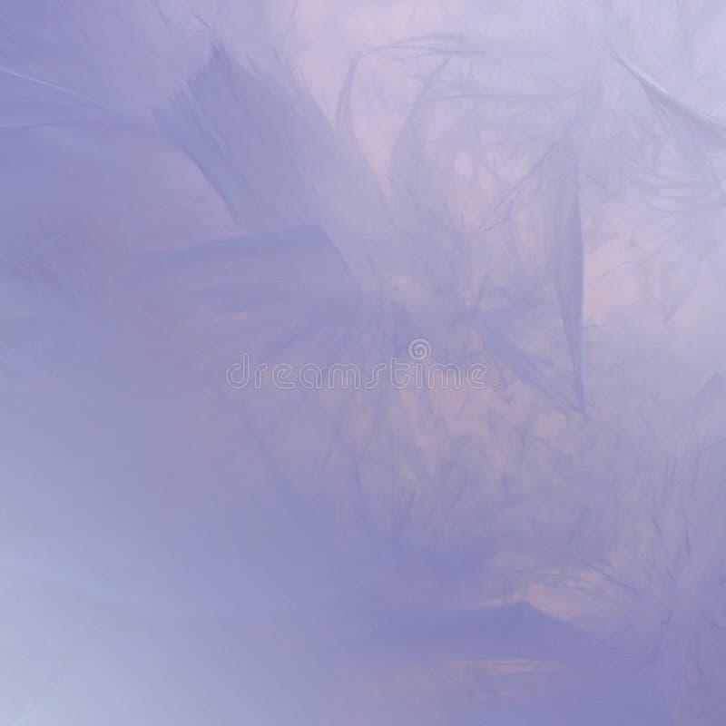 Fondo coloreado púrpura de las plumas del extracto Textura bohemia del pastel del estilo de la pluma de la moda del vintage mulli imagenes de archivo