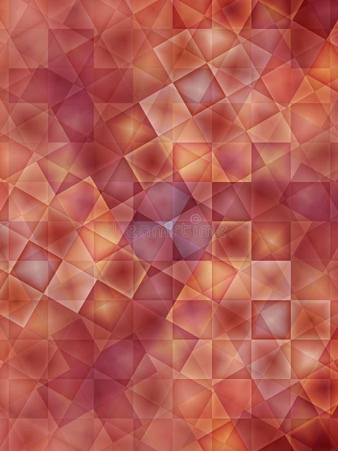 Fondo coloreado rojizo stock de ilustración