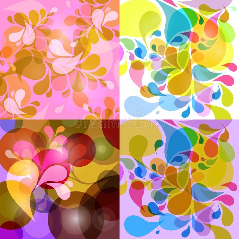 Fondo colorido stock de ilustración