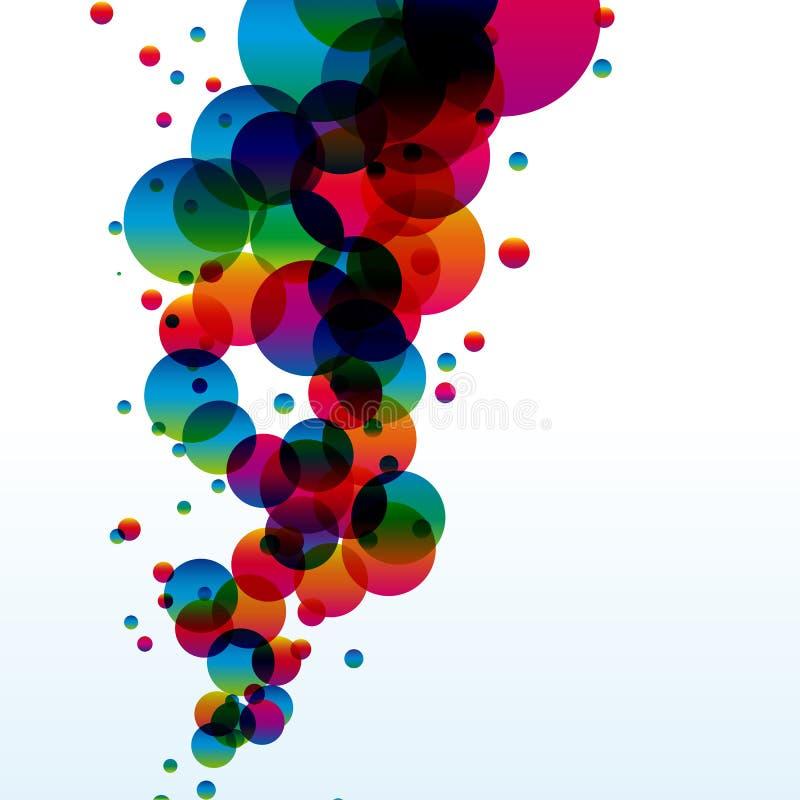 Fondo colorido abstracto. ilustración del vector