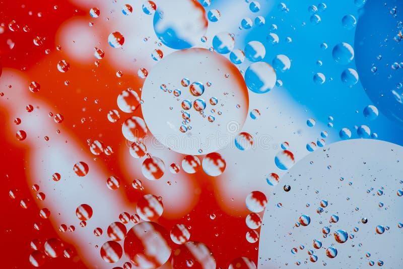 Fondo colorido abstracto aceite/agua fotografía de archivo libre de regalías