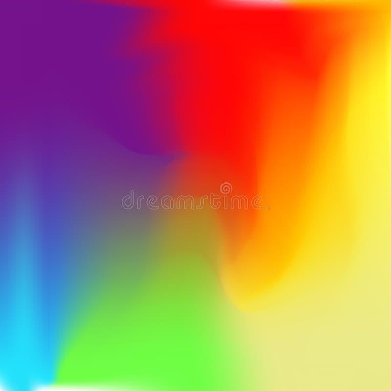 Fondo colorido abstracto, color del arco iris foto de archivo
