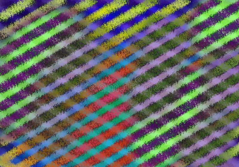 Fondo colorido abstracto con el modelo isométrico foto de archivo