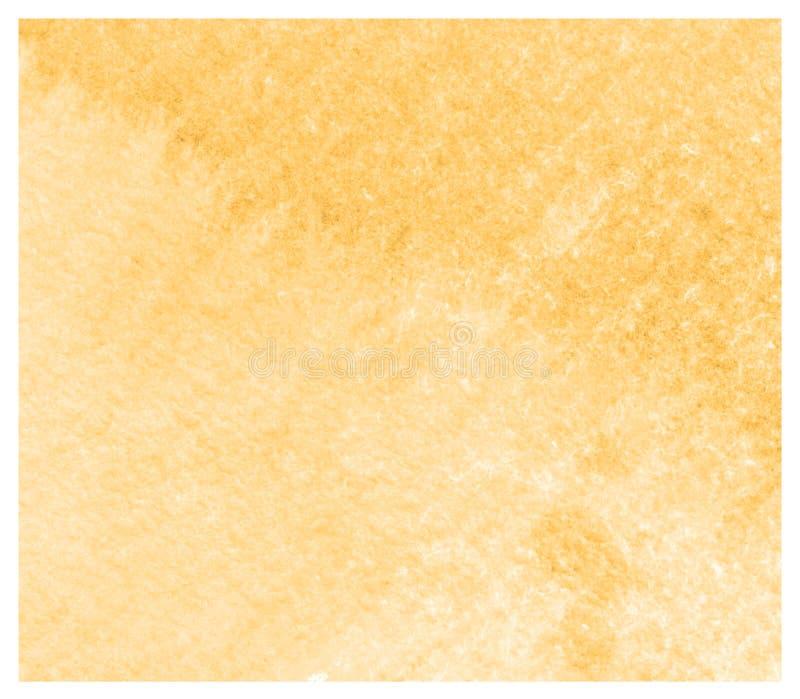 Fondo colorido abstracto de la acuarela de Aspen Gold libre illustration