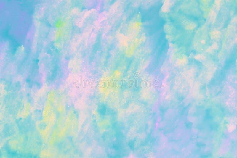Fondo colorido abstracto de la acuarela Modelo multicolor en la pared pintada Producto del arte, acuarela, pintando en estilo mod imagen de archivo libre de regalías