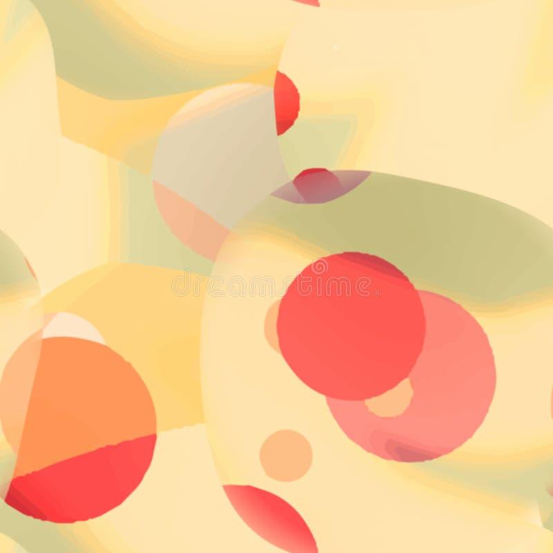 Fondo colorido abstracto del modelo del arco iris del arte stock de ilustración