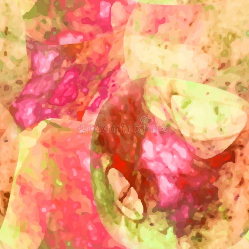 Fondo colorido abstracto del modelo del arco iris del arte libre illustration