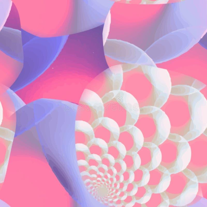 Fondo colorido abstracto del modelo del arco iris del arte ilustración del vector
