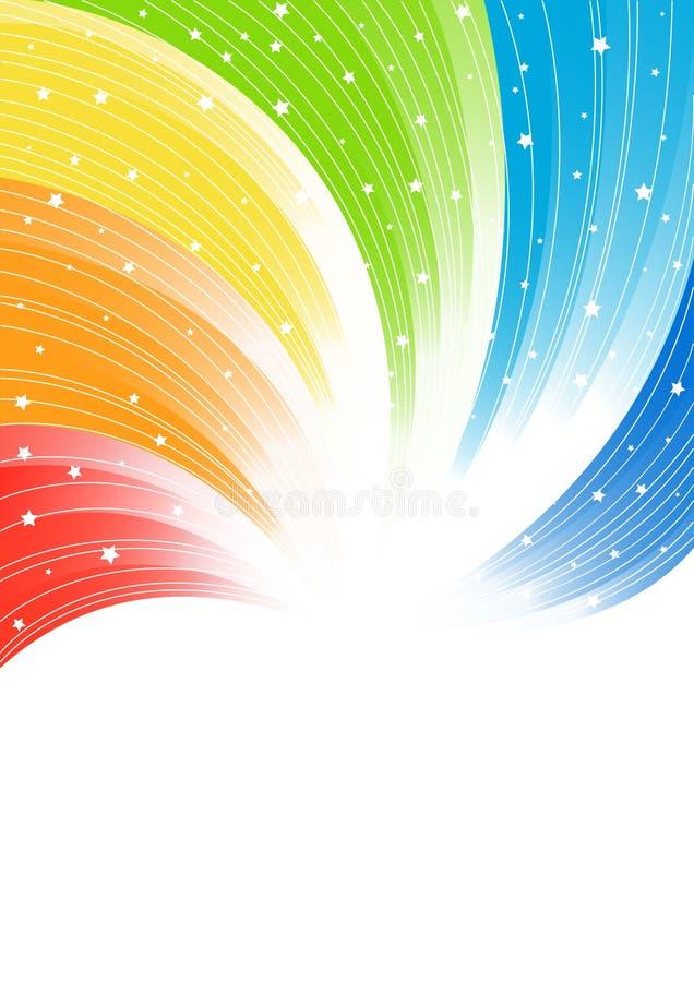 Fondo colorido abstracto del vector ilustración del vector