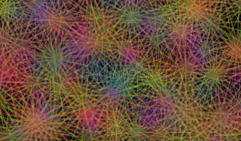 Fondo colorido abstracto del vector stock de ilustración