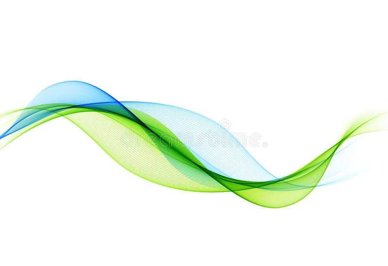 Fondo colorido abstracto del vector, onda del color para el folleto del diseño, sitio web, aviador ilustración del vector