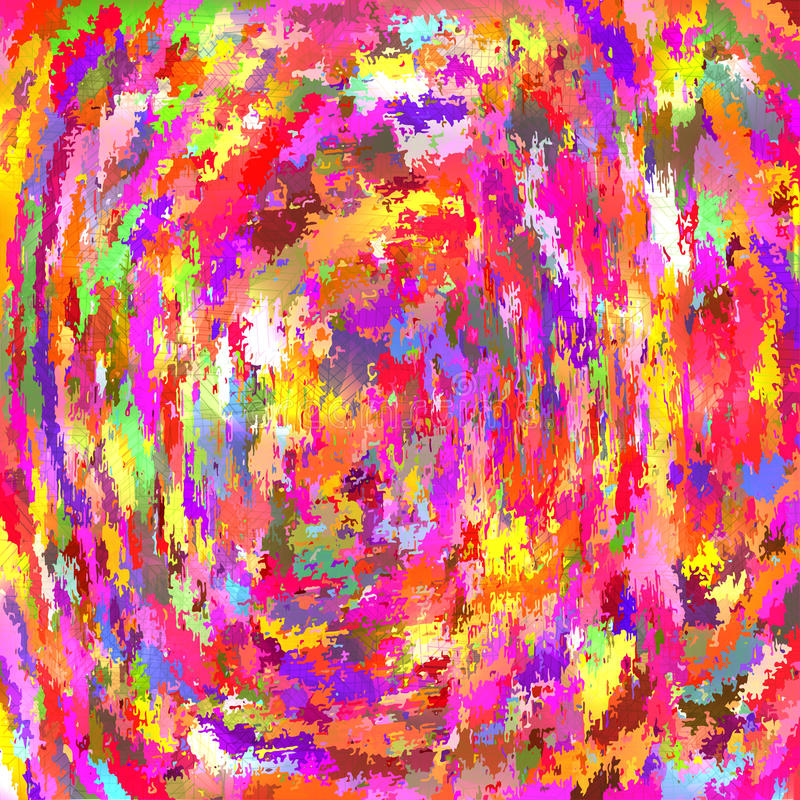 Fondo colorido abstracto hecho usando una escritura y un MES de mezcla libre illustration
