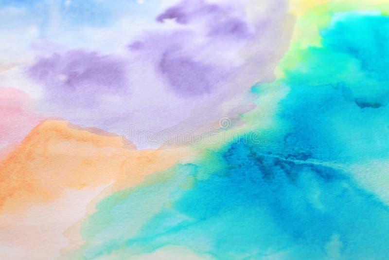 Fondo colorido abstracto Hoja de papel pintada fotografía de archivo libre de regalías