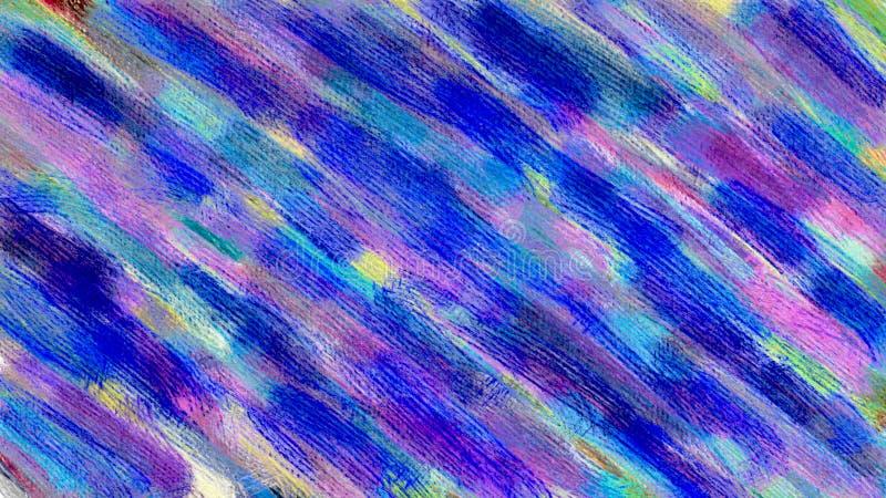 Fondo colorido abstracto Pintura de la acuarela Mano drenada libre illustration