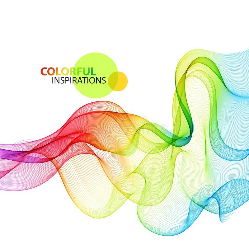 Fondo colorido abstracto Vector libre illustration