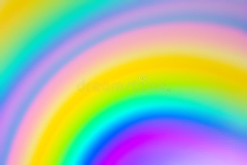 Fondo colorido borroso extracto del arco iris imágenes de archivo libres de regalías