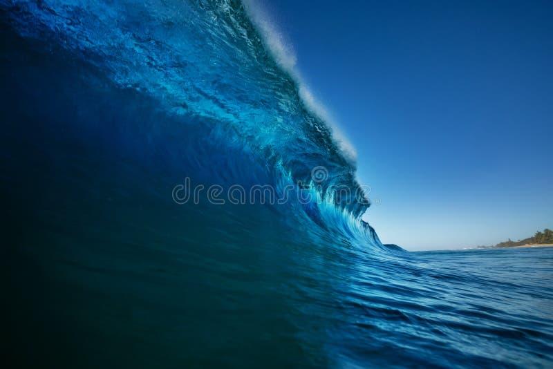 Fondo colorido brillante del mar de la ola oceánica imagen de archivo libre de regalías