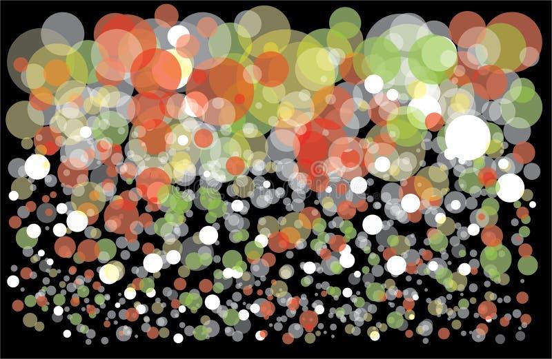 Fondo colorido con las burbujas libre illustration