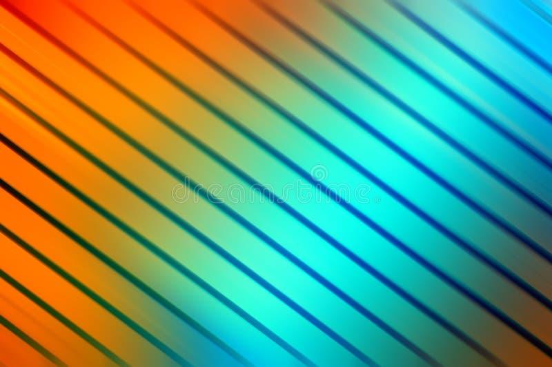 Fondo colorido de líneas ilustración del vector