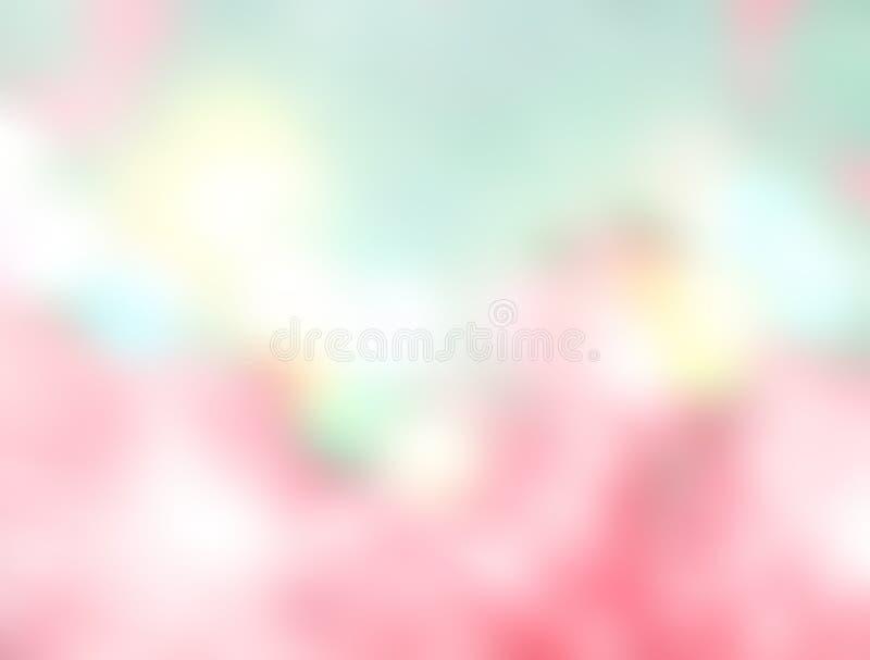 Fondo colorido de la falta de definición del arco iris Color dulce fotografía de archivo