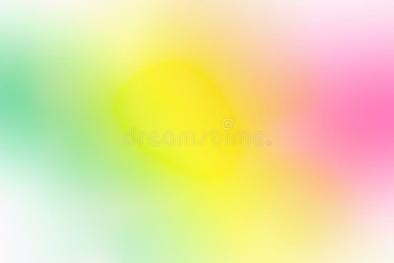 Fondo colorido de la malla de la pendiente en colores brillantes del arco iris Textura borrosa lisa abstracta imágenes de archivo libres de regalías