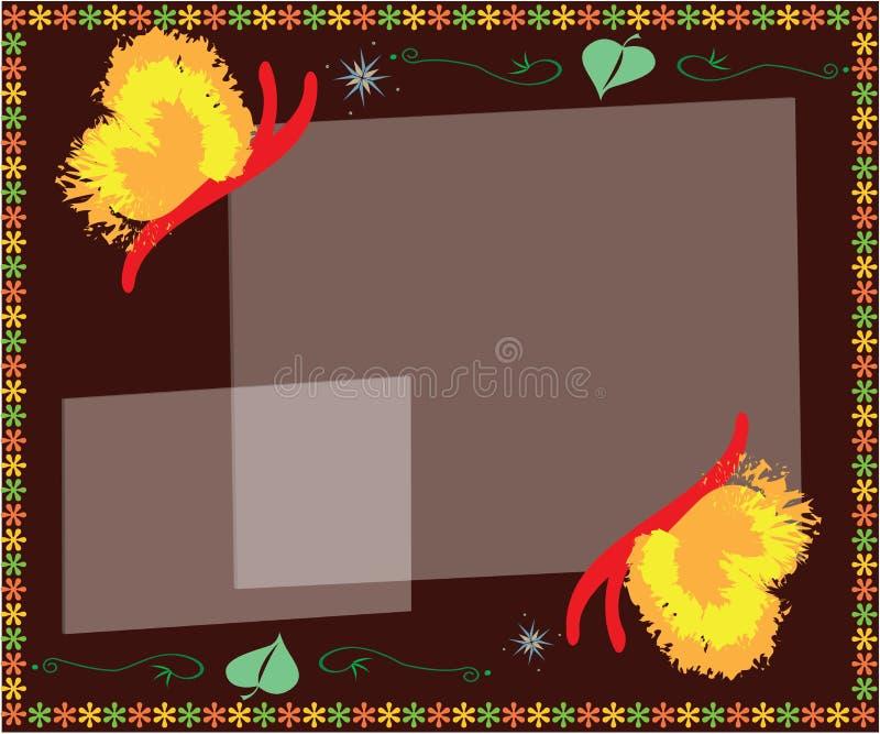 Fondo colorido de la mariposa libre illustration