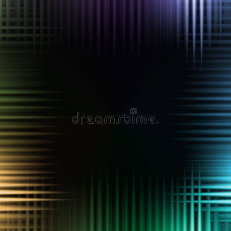 Fondo colorido de la onda imagenes de archivo