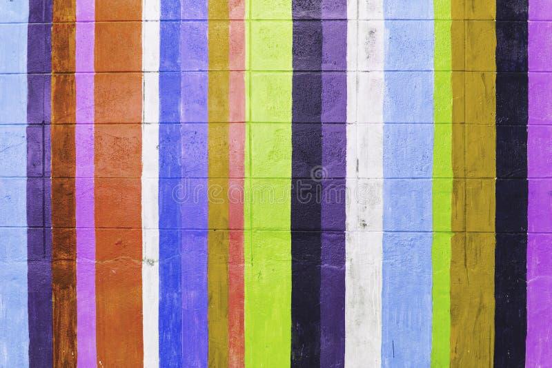 Fondo colorido de la pared fotos de archivo