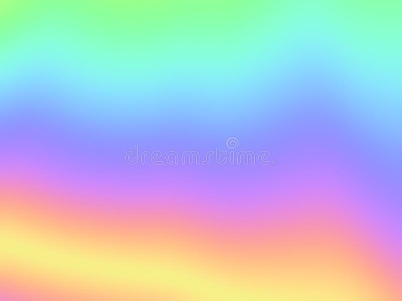 Fondo colorido de la pendiente stock de ilustración