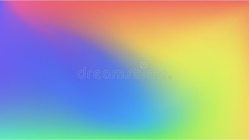 Fondo colorido de la pendiente del extracto ilustración del vector