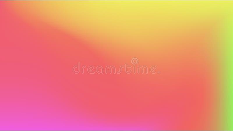 Fondo colorido de la pendiente del extracto stock de ilustración