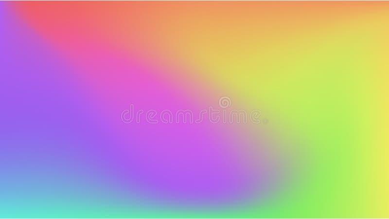 Fondo colorido de la pendiente del extracto libre illustration