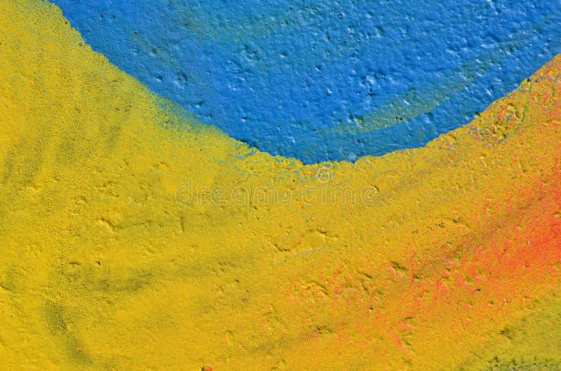 Fondo colorido de la pintura foto de archivo libre de regalías