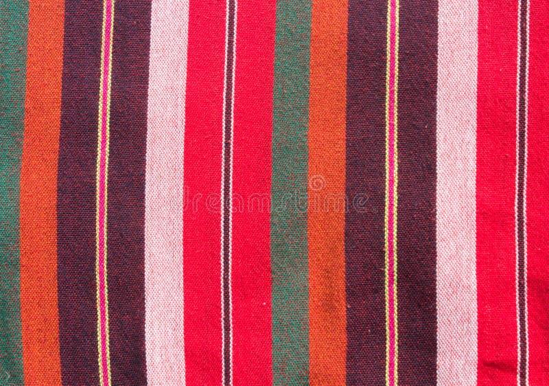 Fondo colorido de la tela del taparrabos imagen de archivo