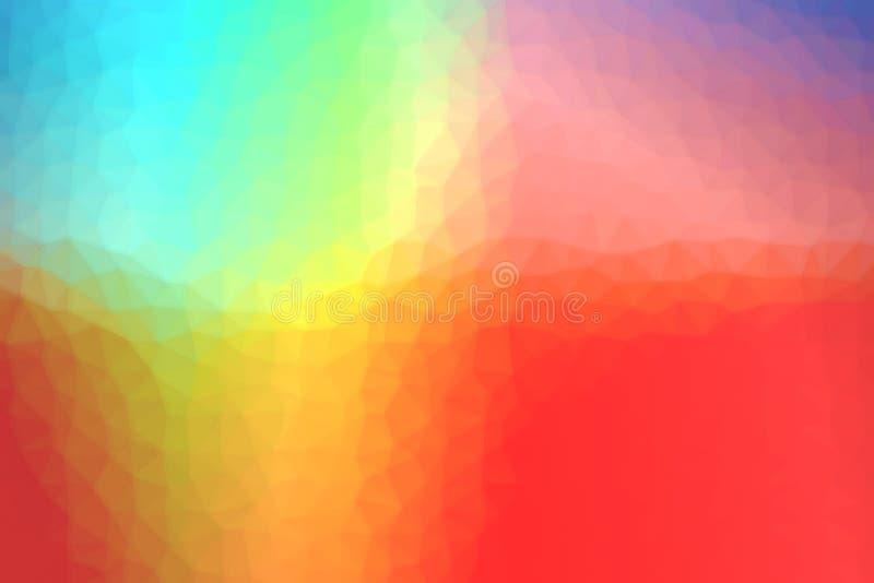 Fondo colorido de la textura ilustración del vector