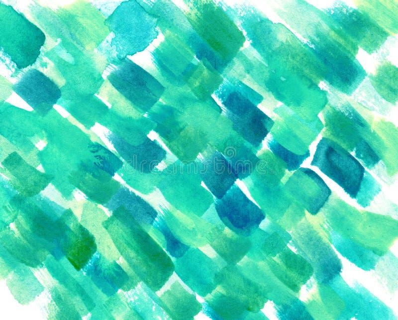 Fondo colorido de la textura de la acuarela abstracta libre illustration