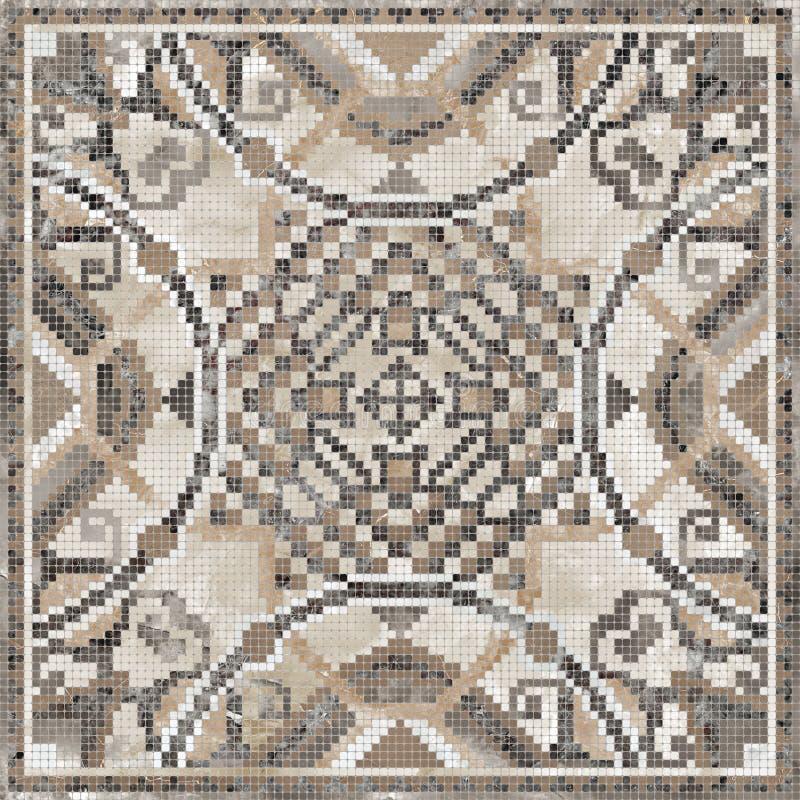 Fondo colorido de la textura del mármol del mosaico ilustración del vector