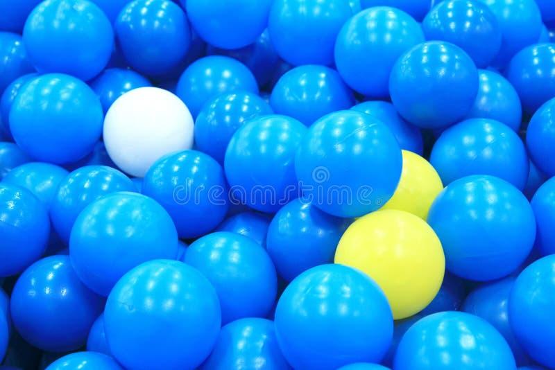 Fondo colorido de las bolas foto de archivo