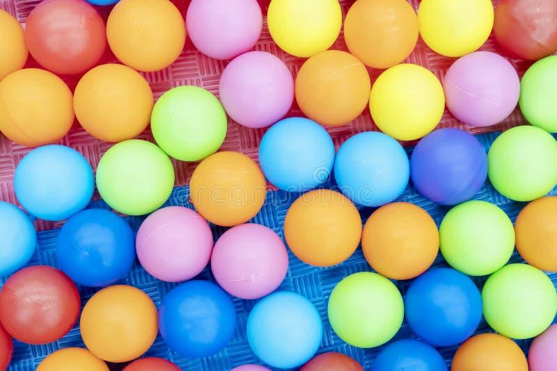 Fondo colorido de las bolas foto de archivo libre de regalías