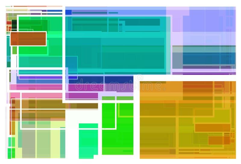 Fondo colorido de las trayectorias imagenes de archivo