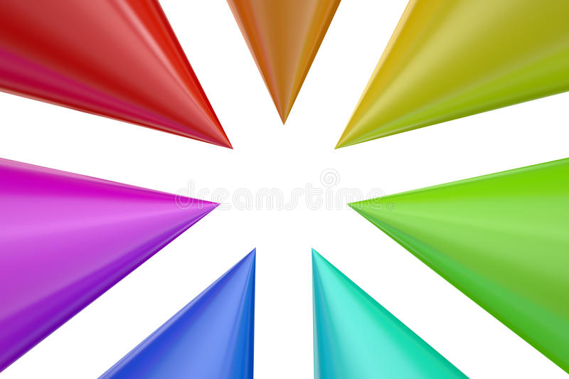 Fondo colorido del arco iris abstracto libre illustration