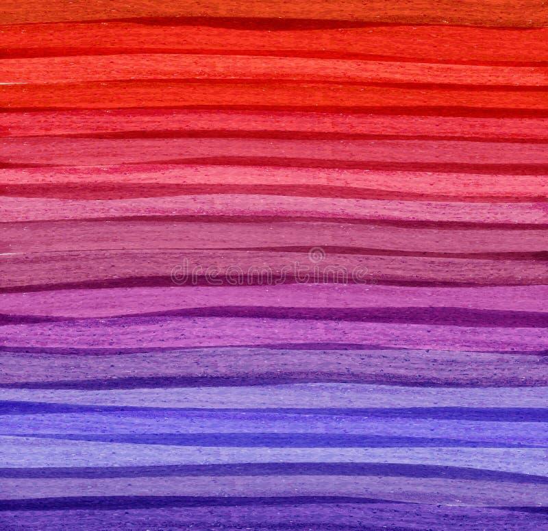 Fondo colorido del extracto de la acuarela. libre illustration