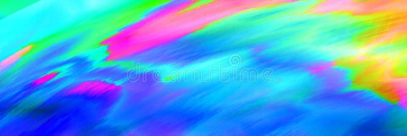 Fondo colorido del extracto de la interferencia libre illustration
