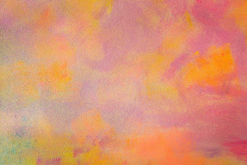 Fondo colorido del extracto del modelo de mosaico de la textura de la grava imagen de archivo