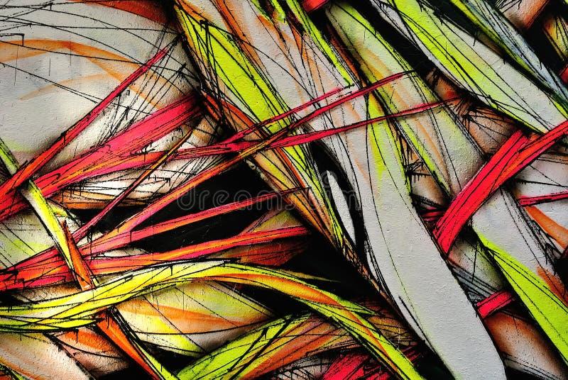 Fondo colorido del Grunge, pared de la pintada fotografía de archivo